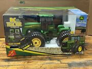 New Ertl John Deere 24 Rc Remote Control Full Function Tractor Toy Model 9620