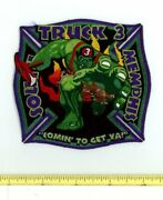 South Memphis Truck 3 Tennessee Fire Rescue Ems Patch Incredible Hulk Cartoon