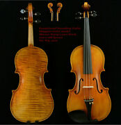 Exceptional Sounding Violinmasterand039s Own Workmaggini Violin 200-y Old Spruce W9