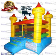 10x10ft Inflatable Combo Bounce House Bouncy Castle With Air Blower