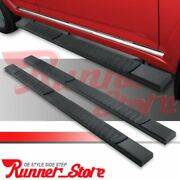 For 05-21 Nissan Frontier Crew Cab 5 Running Board Rectangle Bar Side Step H