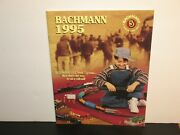 Bachmann 1995 Catalog Model Railroad And Accessories 63 Pages