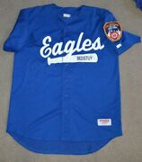 Fdny Bed Stuy Eagles Game Worn Baseball Softball Jersey Fire Dept New York Nyc