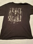 Vintage Look Avenged Sevenfold Cool Large Graphic T-shirt Menandrsquos Size Mediumy57