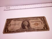 🇺🇸 United States 1 Dollar 1935 A Hawaii Wwii Banknote Pearl Harbor 040721-10