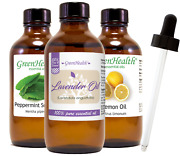 Essential Oil 4 Oz With Free Glass Dropper All Natural Uncut 50+ Oils