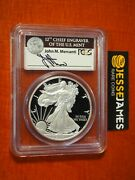 2011 W Proof Silver Eagle Pcgs Pr69 Dcam Fs Mercanti From 25th Anniversary Set