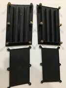Omc Johnson Evinrude Louver Engine Covers Starboard P/n 0329736. Port329735