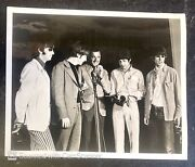 Rare Original The Beatles Photo Man From Uncle Robert Vaughn On Stage Press 1966