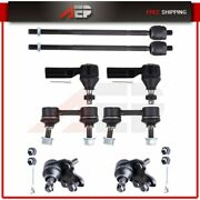 For 1994-1999 Toyota Celica Front Suspension 8pcs Ball Joints Tie Rods Sway Bars