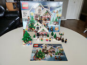 Lego 10199 Winter Village Toy Shop Complete With Box