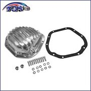 For Gm 8.5 And 8.6 Ring Rear Differential Cover W/ 10 Bolts Polished Aluminum