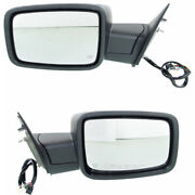 For Ram 1500 Classic Mirror 2019 Lh And Rh Side Pair Chrome Power Folding Heated