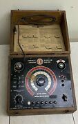 Vintage Tube Radio Capacitor Tester Analyzer Cornell Dubilier Bf-50 Untested