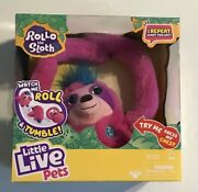 Little Live Pets Rollo The Sloth - Bendable Arms, Movement, Reacts To Sounds