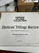 Dept 56 East Indies Trading Co. Dickens Village Series - Brand New