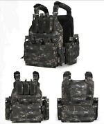 High Quality Quick Disconnect Tactical Hunting Bug-out Plate Carrier Vest