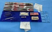 Set Of Storz And Katena Ophthalmic Surgical Instruments