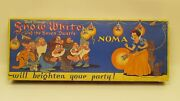 1938 Canada Exclusive Disney Snow White And The Seven Dwarfs Christmas Lights Box