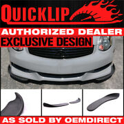 For Mazda 3 Type 4 Front Bumper Quick Lip Splitter 2pc 18x6.5 Inch