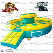 16ft Inflatable Get Him Off Gladiator Jousting Sticks Battle With Air Blower
