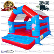 13x13ft Inflatable Peppa Pig Bounce House Bouncy Castle Bouncer With Air Blower