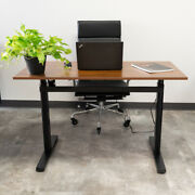 47 X 24 Home Office Electric Standing Up Desk Height Adjustable Workstation