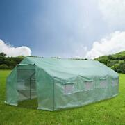 20and039x10and039x7and039 Outdoor Greenhouse Walk In Hot Green House Heavy Duty Plant Grow Tent