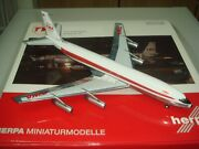 Herpa Wings 200 Trans World Airlines Twa B707-300 Double Globe 1200 Diecast