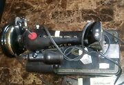 Vintage 1956 Singer 99k Electric Sewing Machine W/ Light And Foot Control El726535