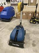 New Powr-flite 16 Compact Auto Scrubber And Grout Cleaner