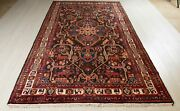 10and039 1 X 5and039 3 Vintage Rustic Tribal Area Rug Low Pile Soft Nomadic Wool Carpet