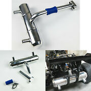 Metal Tuned Exhaust Pipe Replace Part For Hpi 5b/t 5sc Km Rovan Baja Buggy Truck