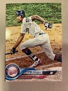 2018 Topps Transcendent Vip Party Byron Buxton 1/1