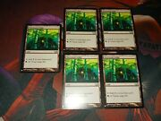 Mtg X5 Wirewood Lodge. Mystery Booster. Nm.