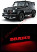 W464 W463a Red Led Logo Badge On Front Grille Brabus Style Mercedes G-class