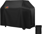 Homitt Gas Grill Cover 58-inch 3-4 Burner 600d Heavy Duty Waterproof Bbq Cover