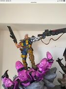 1/4 Scale Very Rare Cable Custom Statue Very Low Number Not Xm Or Sideshow