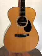 Eastman E20om-tc Acoustic Guitar Thermo-cured