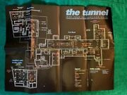 1996 Wow 90s Nyc Club Flyer The Tunnel Foldout Poster Floorplan Map