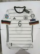 Adidas Joshua Kimmich Germany Euro 2022 Wc Qualifiers Match Home Jersey 2020-21