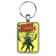 Green Hornet 29 Cover Key Ring Or Necklace Vintage Classic Comic Book Jewelry
