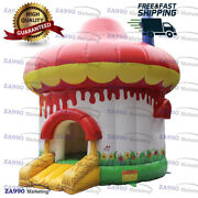 16x13ft Commercial Inflatable Mushroon Bounce House Bbouncer With Air Blower