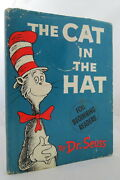 The Cat In The Hat 1957 First Edition 1st Printing In Dj W/all Points