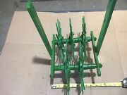 Tractor Cultivator Rotary Hoe Attachment Single Row Unit John Deere