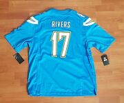 Philip Rivers + San Diego Chargers + Jersey + Nike + Brand New With Tags