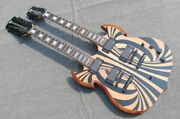 Rare Wylde Audio Barbarian 12 And 6 Strings Double Neck Sg Electric Guitar Chinese