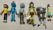 Funko Rick And Morty Series 1 Action Figure Set With Snowball Robot