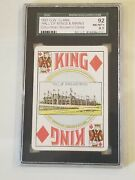1893 Columbian Exposition Chicago Il Worlds Fair Sgc Nm Graded 8.5 Playing Card