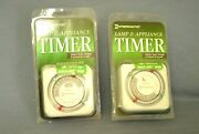 Two New Intermatic Lamp And Appliance Timers Tn111c Heavy Duty 24 Hour